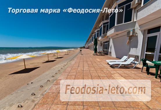 Эллинги в п. Приморский Феодосия с кухней на берегу моря - фотография № 1
