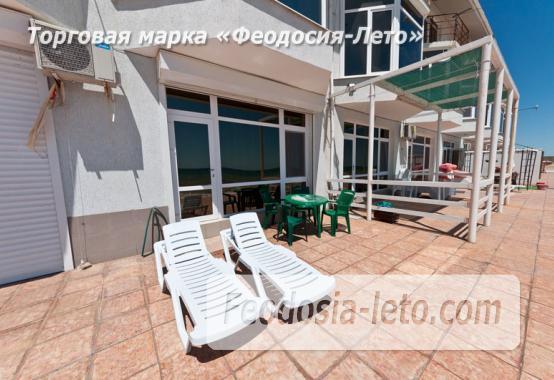 Эллинги в п. Приморский Феодосия с кухней на берегу моря - фотография № 23