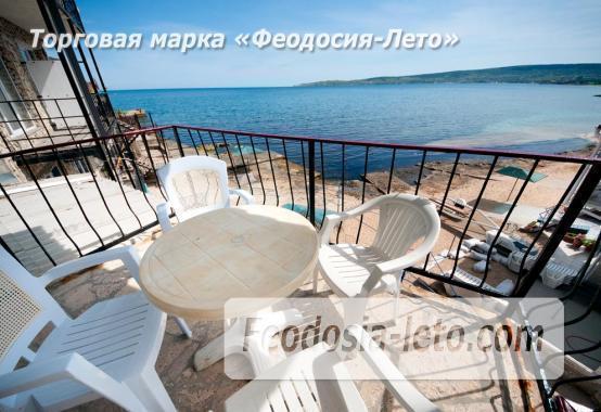 Феодосия эллинг с кухней в номерах на Черноморской набережной - фотография № 2