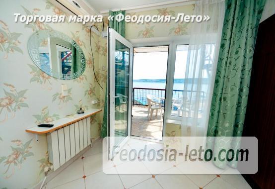 Феодосия эллинг с кухней в номерах на Черноморской набережной - фотография № 6
