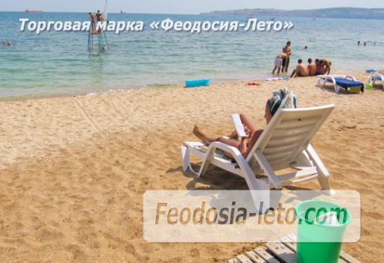 Эллинг в Феодосии у моря с собственным пляжем - фотография № 1