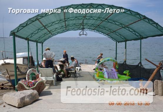 эллинги в Феодосии на мысе Ильи, на берегу моря, - фотография № 6