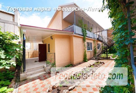 Гостевой дом на улице Черноморская в Береговом Феодосия Крым - фотография № 2