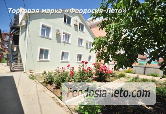 Гостиница на первой линии у моря в п. Береговое Феодосия Крым - фотография № 1