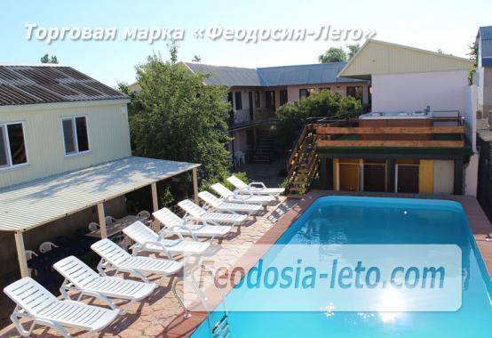 Гостиница с бассейном в Феодосии на улице Дружбы - фотография № 36