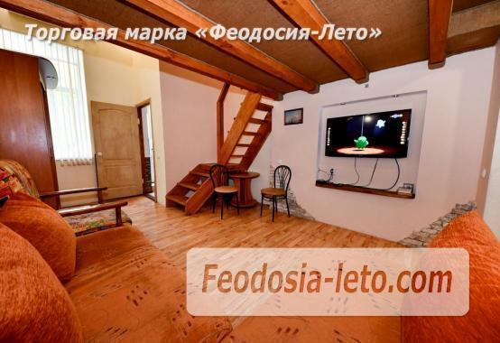 Квартира двухуровневая 1-комнатная в Феодосии с отдельным входом - фотография № 2