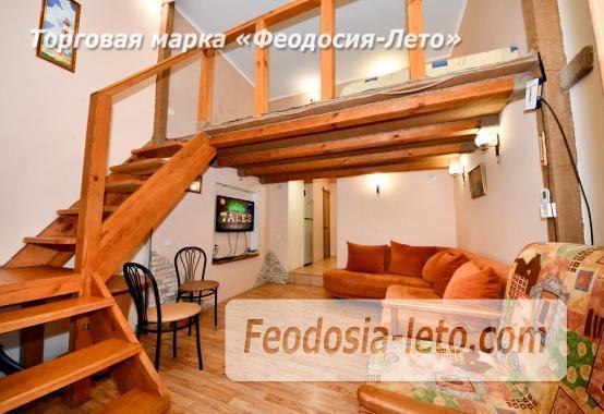Квартира двухуровневая 1-комнатная в Феодосии с отдельным входом - фотография № 3