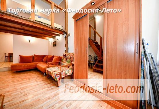 Квартира двухуровневая 1-комнатная в Феодосии с отдельным входом - фотография № 4