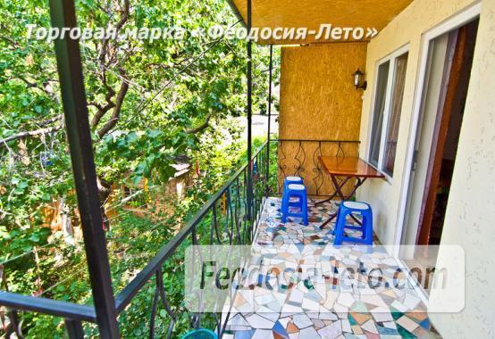 Мини отель в Феодосии с зелёным двором на улице Советская - фотография № 4