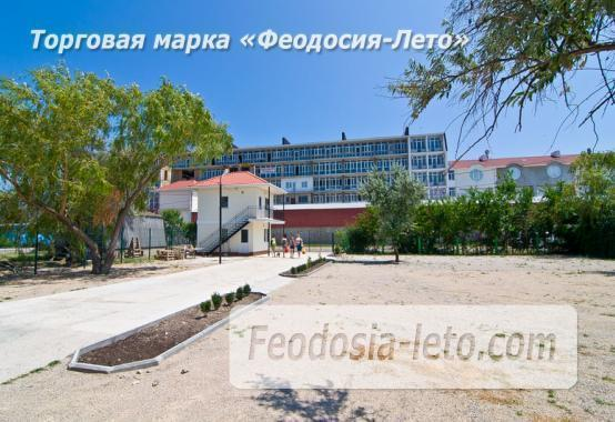 Номера в домиках на берегу моря в Феодосии на Керченском шоссе - фотография № 28