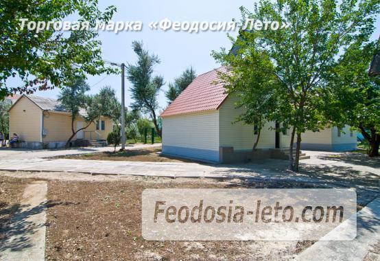 Номера в домиках на берегу моря в Феодосии на Керченском шоссе - фотография № 30