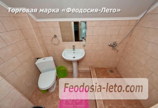 Номера в домиках на берегу моря в Феодосии на Керченском шоссе - фотография № 14