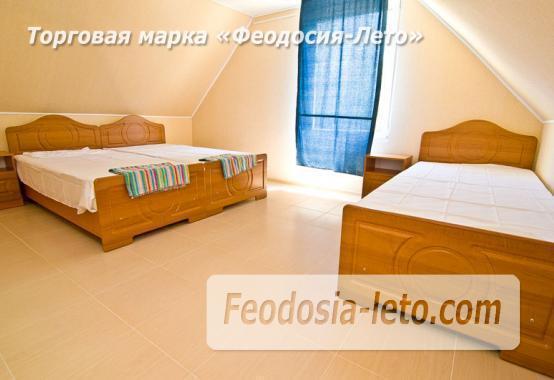 Номера в домиках на берегу моря в Феодосии на Керченском шоссе - фотография № 32