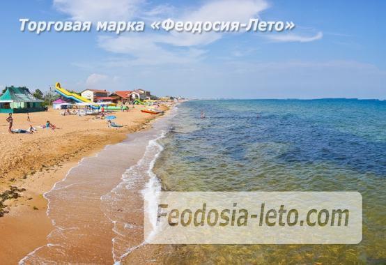 Номера в домиках на берегу моря в Феодосии на Керченском шоссе - фотография № 39