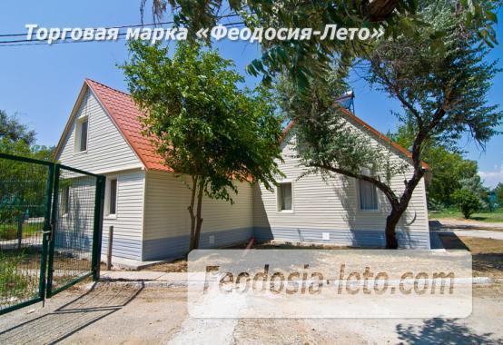 Номера в домиках на берегу моря в Феодосии на Керченском шоссе - фотография № 15