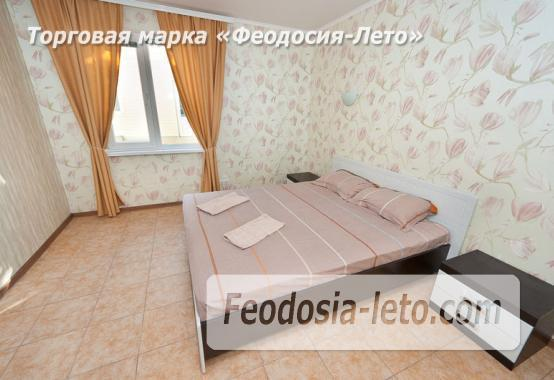 Номера в домиках на берегу моря в Феодосии на Керченском шоссе - фотография № 3