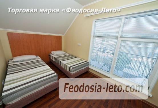 Номера в домиках на берегу моря в Феодосии на Керченском шоссе - фотография № 10