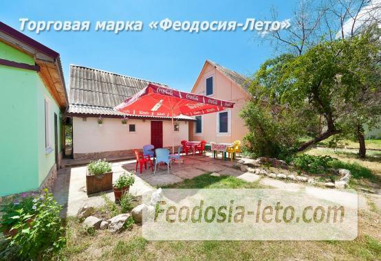Номера в домиках на Керченском шоссе на Золотом пляже - фотография № 11