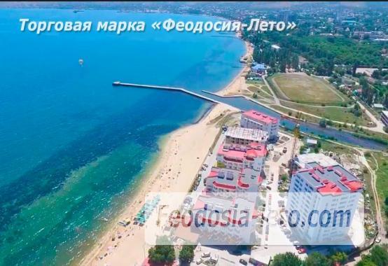 Однокомнатная квартира в Феодосии в 10 метрах от пляжа, Черноморская набережная - фотография № 11