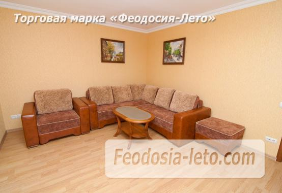 Однокомнатная стильная квартира в Феодосии, бульвар Старшинова, 8-Д - фотография № 1