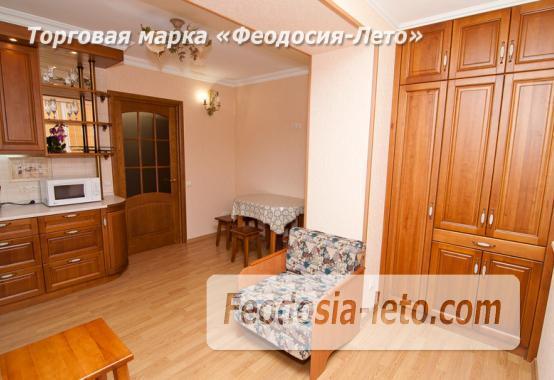 Однокомнатная стильная квартира в Феодосии, бульвар Старшинова, 8-Д - фотография № 4