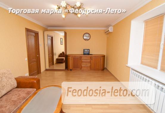 Однокомнатная стильная квартира в Феодосии, бульвар Старшинова, 8-Д - фотография № 9