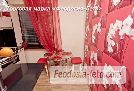 1 комнатная стильная квартира в Феодосии, улица Гарнаева, 73 - фотография № 9