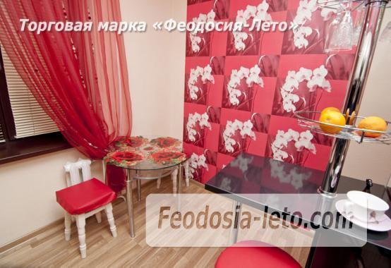 1 комнатная стильная квартира в Феодосии, улица Гарнаева, 73 - фотография № 10