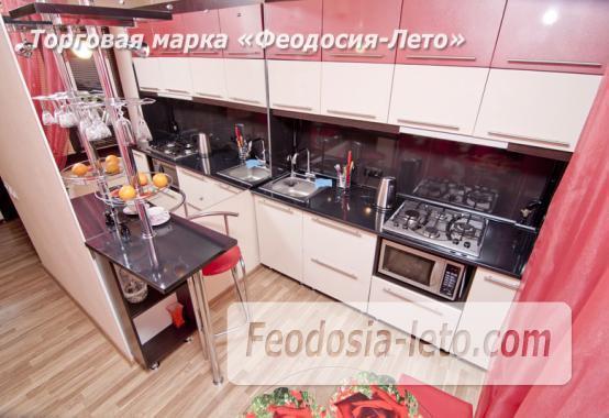 1 комнатная стильная квартира в Феодосии, улица Гарнаева, 73 - фотография № 7