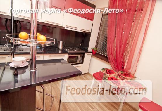1 комнатная стильная квартира в Феодосии, улица Гарнаева, 73 - фотография № 8