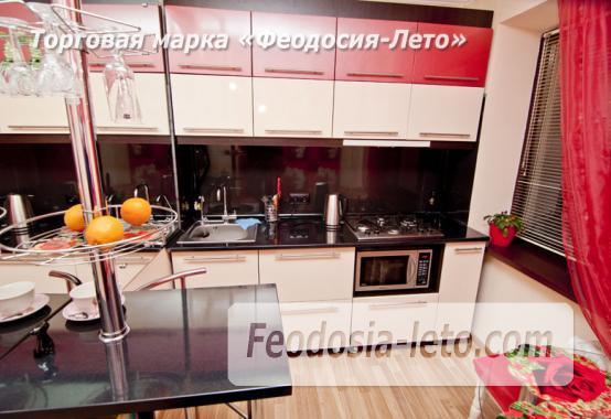 1 комнатная стильная квартира в Феодосии, улица Гарнаева, 73 - фотография № 11