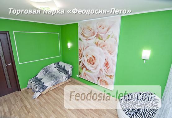 1 комнатная стильная квартира в Феодосии, улица Гарнаева, 73 - фотография № 12