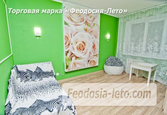 1 комнатная стильная квартира в Феодосии, улица Гарнаева, 73 - фотография № 15