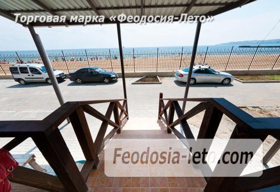 Однокомнатный номер в Феодосии с видом на море, Черноморская набережная - фотография № 1