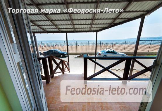 Однокомнатный номер в Феодосии с видом на море, Черноморская набережная - фотография № 5