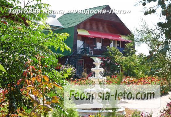 Пансионат на берегу моря в Феодосии, Керченское шоссе - фотография № 2