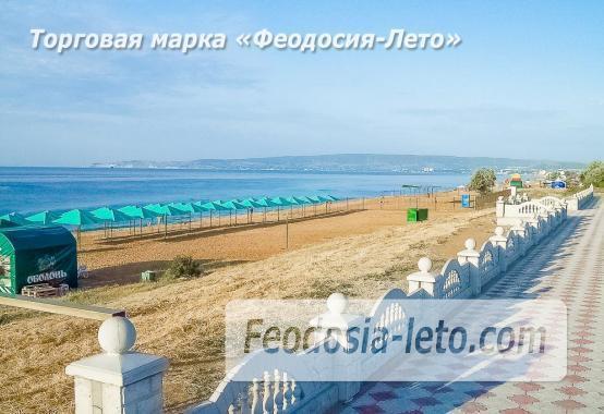 Береговое Феодосия пляжи - фотография № 11