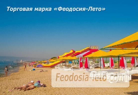 Береговое Феодосия пляжи - фотография № 6