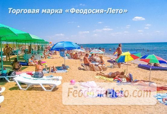 Береговое Феодосия пляжи - фотография № 7