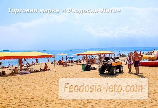 Береговое Феодосия пляжи - фотография № 8