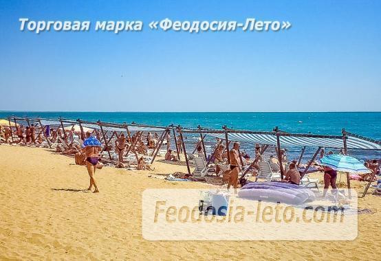 Береговое Феодосия пляжи - фотография № 9