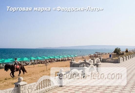 Береговое Феодосия пляжи - фотография № 13