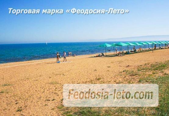 Береговое Феодосия пляжи - фотография № 4