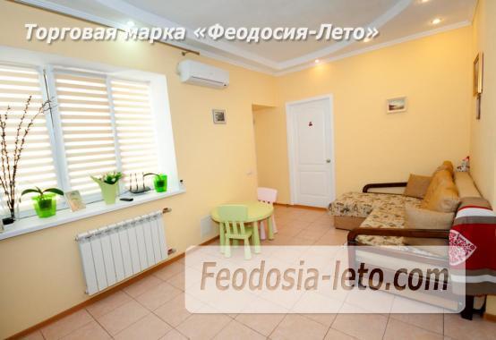 2-комнатный дом у моря в городе Феодосия, переулок Беломорский - фотография № 1