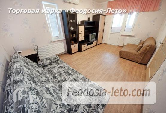 С хорошим ремонтом 1-комнатная квартира в Феодосии на улице Дружбы, 46 - фотография № 15