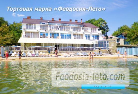 Отель со своим пляжем на улице Курортная - фотография № 1