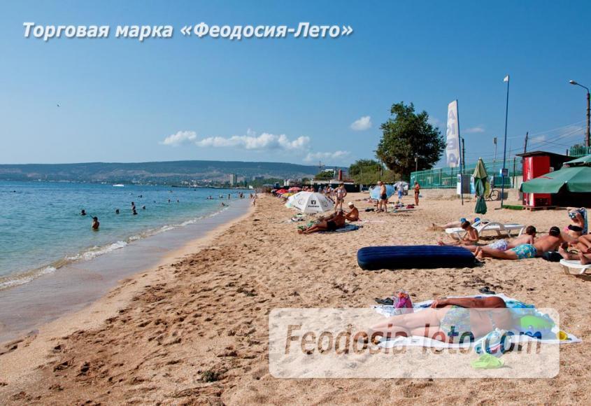 Пляжи Феодосии на Черноморской набережной - фотография № 10