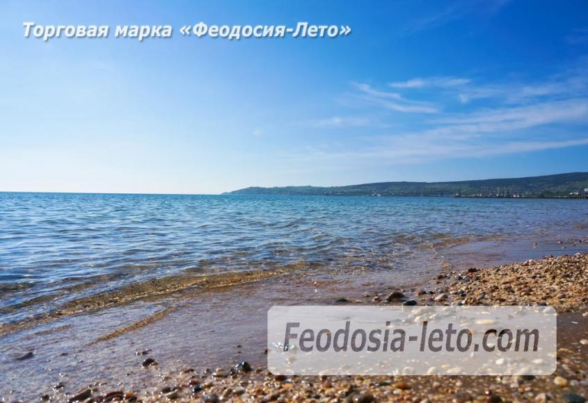 Пляж Динамо в Феодосии - фотография № 10
