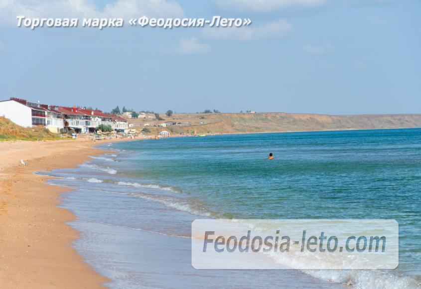 Пляж Песчанка в посёлке Приморский, Крым - фотография № 10