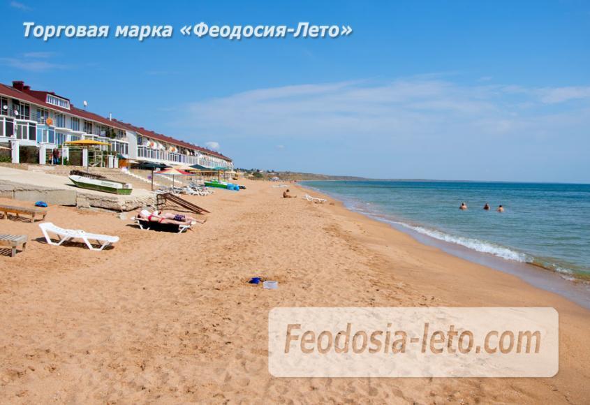 Феодосия п. Приморский пляж перед эллингами на Песчаной балке - фотография № 10